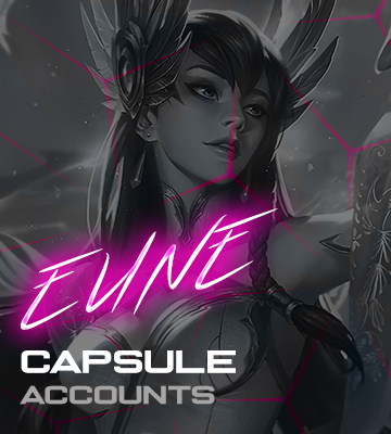 LOL EUNE Capsule Accounts