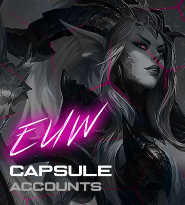 LOL EUW Capsule Accounts