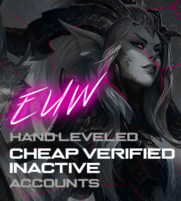 LOL EUW Cheap Verified Account