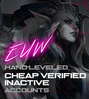 LOL EUW Cheap Verified Account