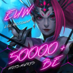 LoL EUW (Europe West) Unverified Account Level 30+ with 50000+ BE