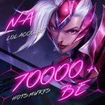 LoL NA (North America) Unverified Account Level 30+ with 70000+ BE
