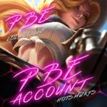 LoL PBE (Public Beta Environment) Unverified Account