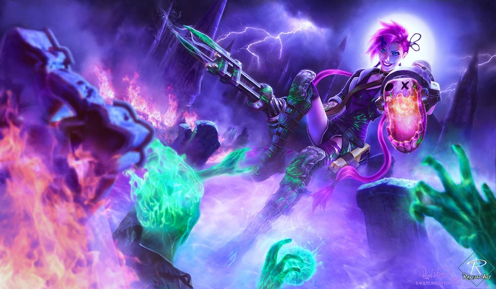 Heroes from League of Legends - 5 best ones