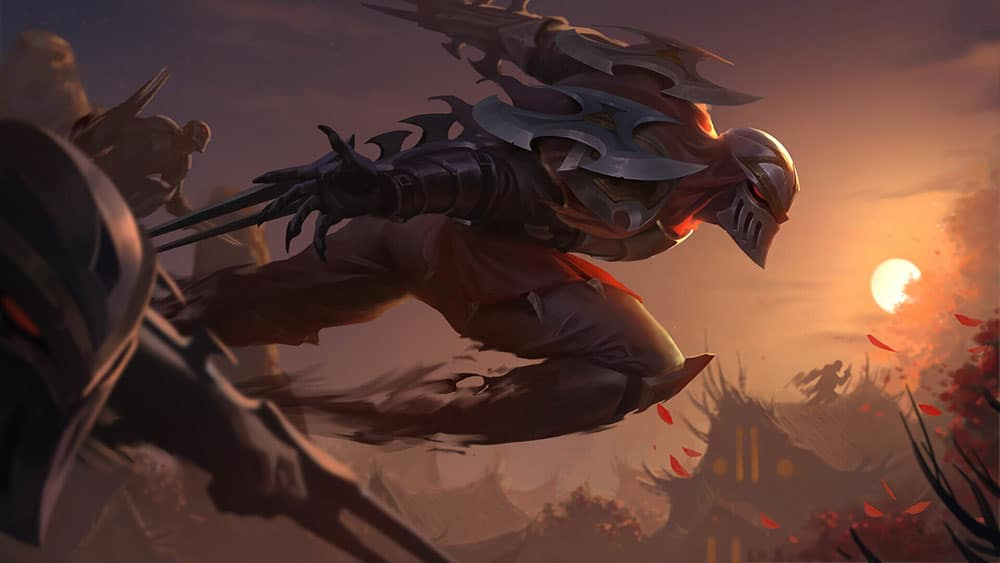 Zed the Master of Shadows