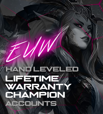 LOL EUW FA Champion Accounts